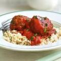 Italiaanse gehaktballetjes in pittige tomatensaus