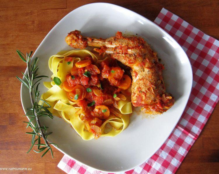 ... | Italiaanse kipstoofpot: Pollo in Potacchio | Aranka's Kookblog