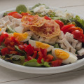 Amerikaanse salade: the Cobb salad