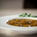 Een pittig (groenten)soepje met ballen!