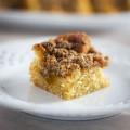 Foodblogswap: Abrikozen Kruimelkoek (met kaneel en kardemom)